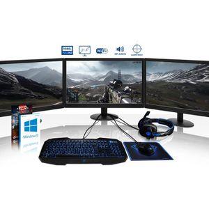UNITÉ CENTRALE + ÉCRAN VIBOX Voxel GSR770-100 Pack PC Gamer - AMD 8-Core,