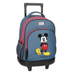 CARTABLE MICKEY ET SES AMIS - Grand cartable trolley 43cm M