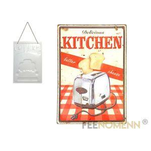 Tableau deco vintage cuisine achat vente pas cher - Plaque deco cuisine ...