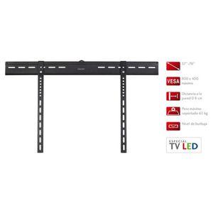 FIXATION - SUPPORT TV Support TV Fonestar Fixe Extra-plat, 0,8 cm de dis