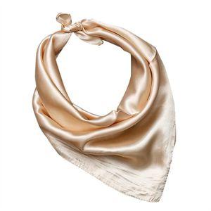 Femmes Lady Solide Couleur Écharpe Wrap accessoire de mode (Champagne) 39dbb24dd2d