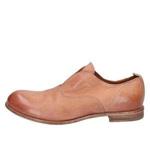 MOCASSIN MOMA Chaussures Femme Mocassin Cuir Rose AB616