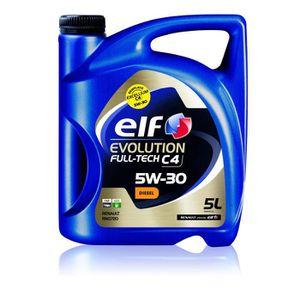 HUILE MOTEUR ELF Huile moteur Evolution Full Tech C4 5W30 - 5L