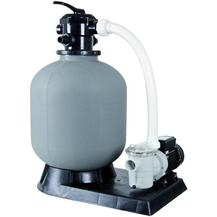 Kit de Filtration à sable pour piscine - 6m3/h