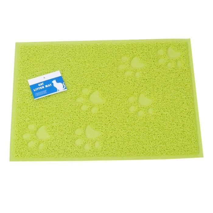 Cat Litter Mat - Safe & Non-toxic Soft Easy On The Paws Waterproof Easy- Yihqf