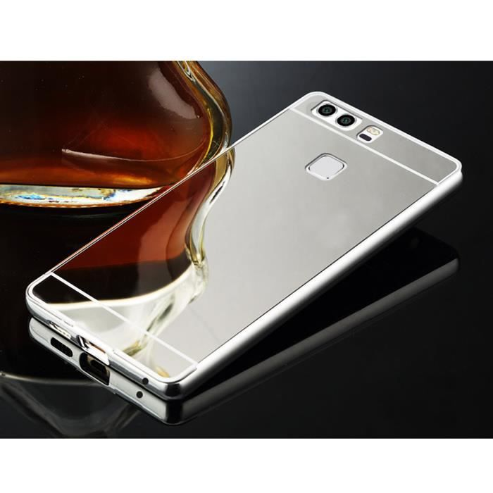 coque huawei p9 argent