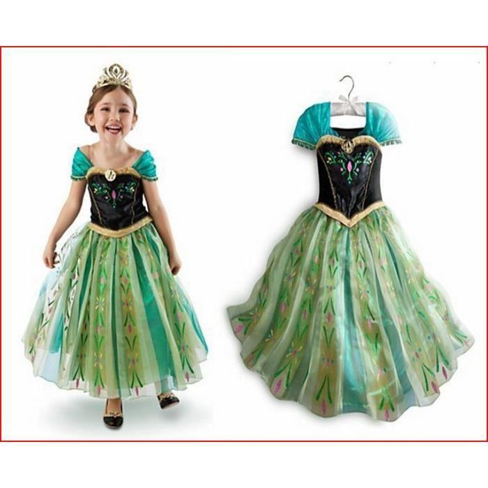 DÉGUISEMENT - PANOPLIE robe deguisement elsa reine des neiges taille ... 87d4727c5e01
