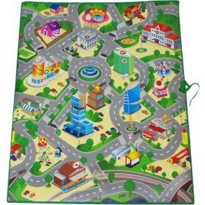 grand tapis 120 chambre pour petite voiture jeu jouet garcon chambre enfant achat vente. Black Bedroom Furniture Sets. Home Design Ideas