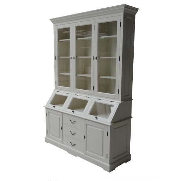 FAUTEUIL Shabby Chic Country Style Cabinet Buffet 1