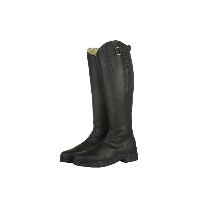 Bottes Country Artic 36 (L 35cm H 43cm) Noir