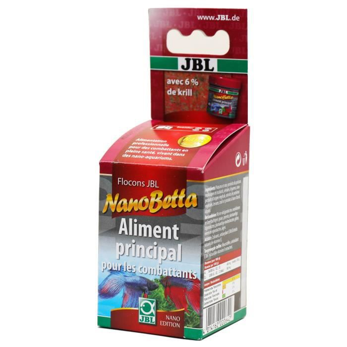 Jbl Aliment En Flocons Nanobetta - Pour Poisson Combattant Nano-aquariums 60ml