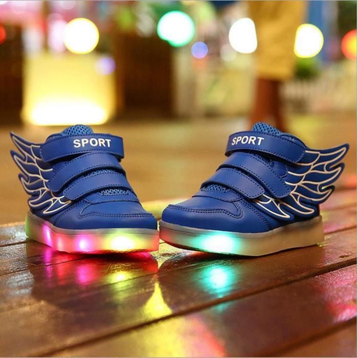 Enfants baskets Fashion lumineux éclairés color...
