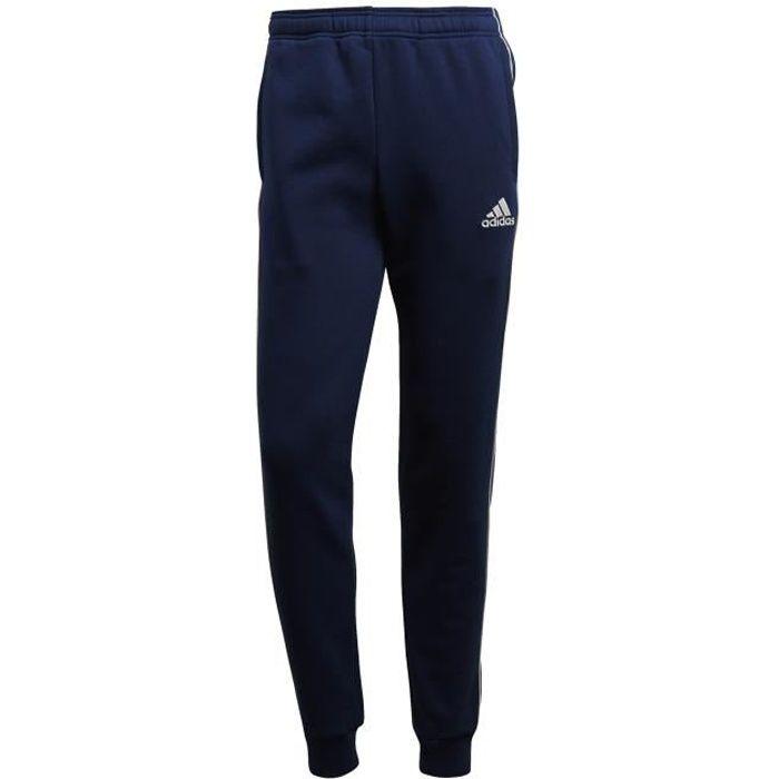 Pantalon de survêtement adidas Core 18 Bleu blanc - Achat   Vente ... 0c9a33398d3e