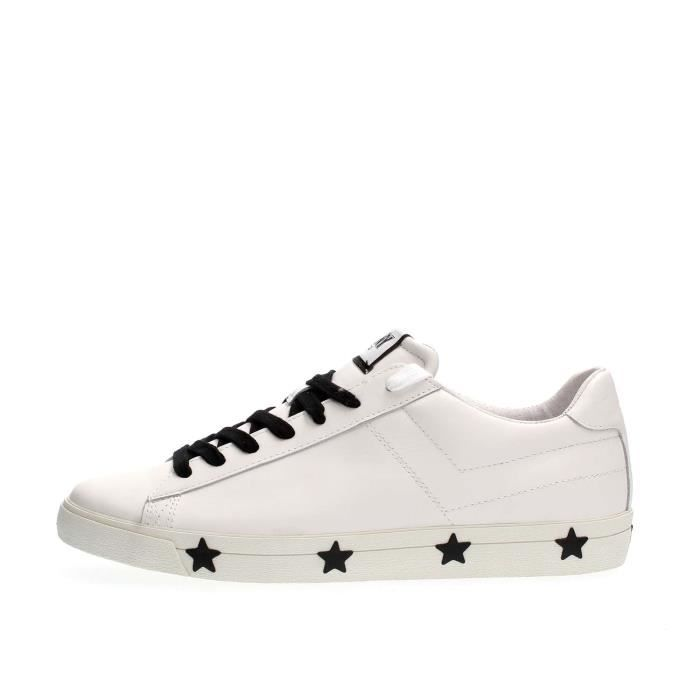 PONY SNEAKERS Homme BLACK WHITE, 40