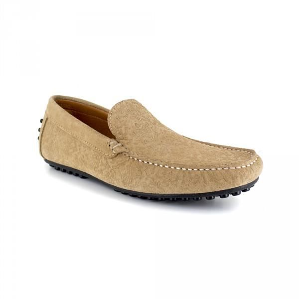 MOCASSIN Mocassin Peter Blade Cuir Sable DURHAM - Couleur -