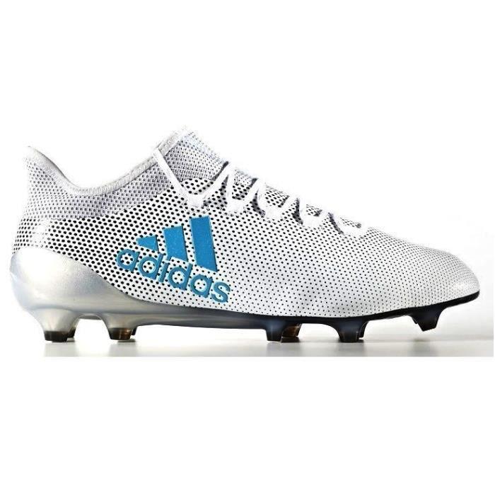 100% authentic c17d1 64be8 CHAUSSURES DE FOOTBALL ADIDAS - Adidas X 17.1 SG bleu - (39 1 3 .