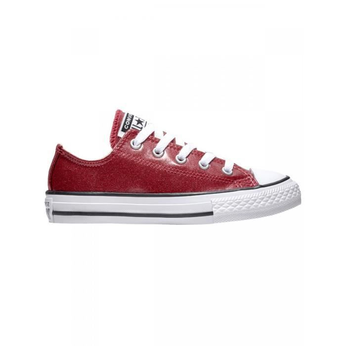 mode fille CONVERSE CONVERSE Baskets or chuck taylor all star glitter enfant fille converse