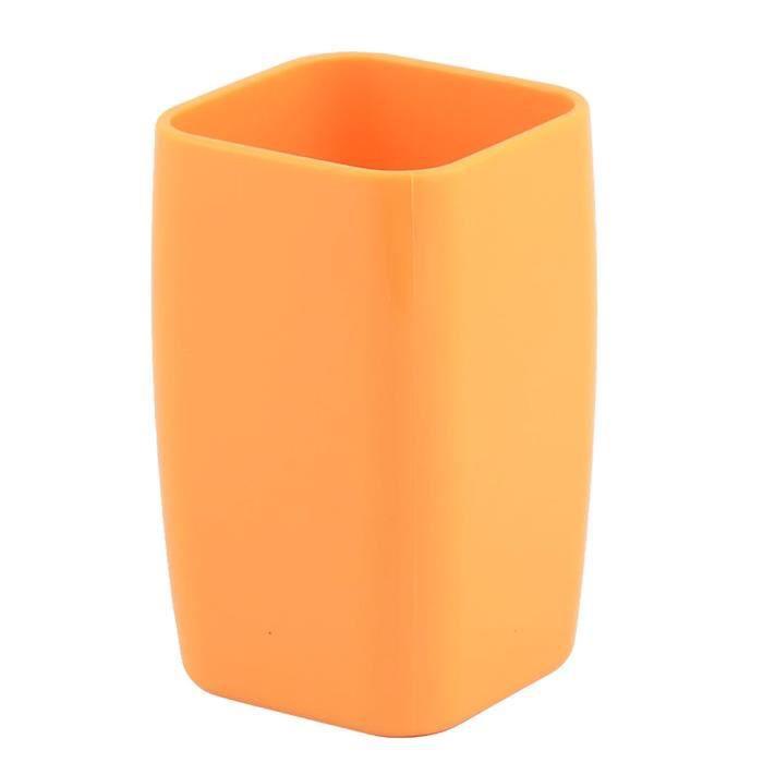 Salle bains Boîte eau plastique Porte brosse à dents Dentifrice ...