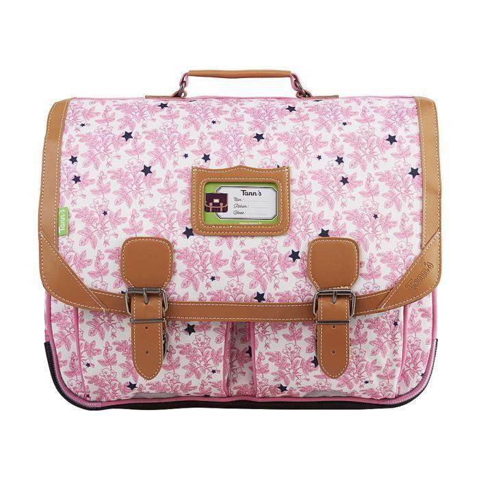 cartable 41cm tann 39 s les petites duchesses pivoine rose pivoine achat vente cartable. Black Bedroom Furniture Sets. Home Design Ideas