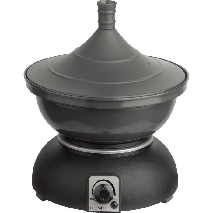 triomph etf1642 tajine lectrique 2 8l 1200w noir achat vente wok tajine auto. Black Bedroom Furniture Sets. Home Design Ideas