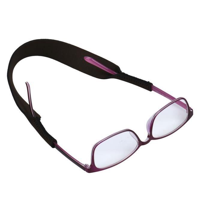 5pcs lunettes Anti-dérapant sangle sports Extérieur lunettes de soleil corde porte-ruban PAC3697979