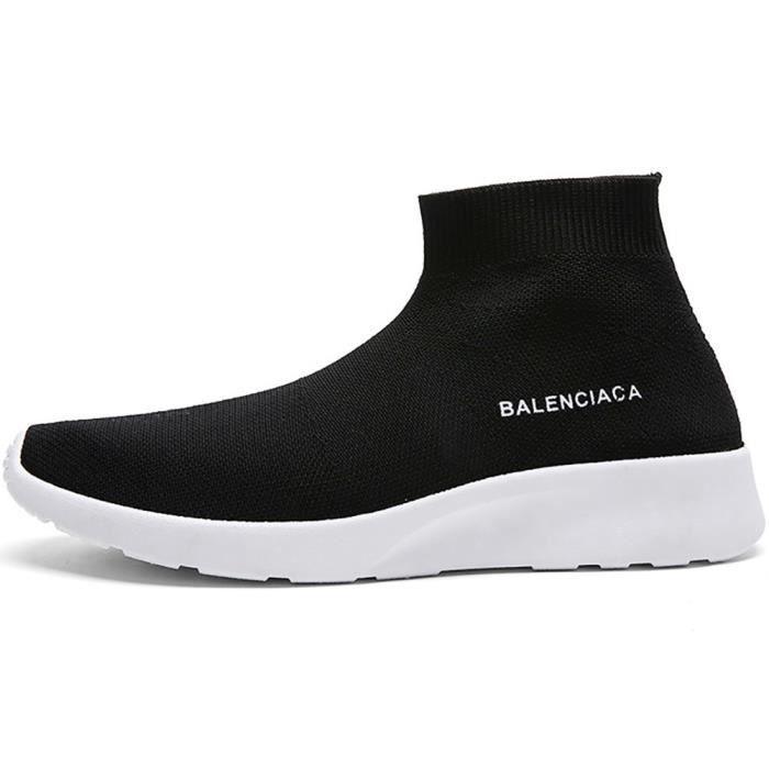 Chaussures de on SG4LS Chaussettes de légère Flyknit sport Slip 41 Taille course Sneakers qwaUAnEw