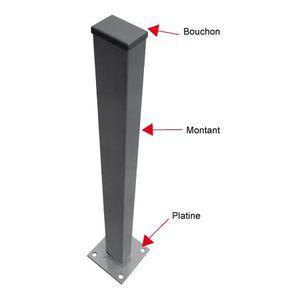 poteaux en beton pour cloture achat vente poteaux en beton pour cloture pas cher cdiscount. Black Bedroom Furniture Sets. Home Design Ideas