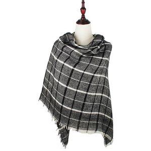 314dca2a478 ECHARPE - FOULARD Couverture Plaid Femmes écharpe d hiver chaud Wrap ...