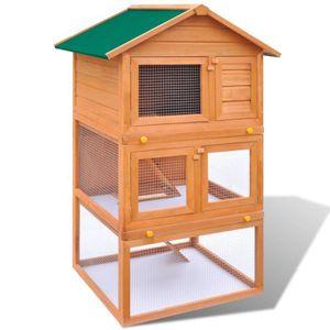 CAGE Abris et cages pour petits animaux Cage Clapier Ex