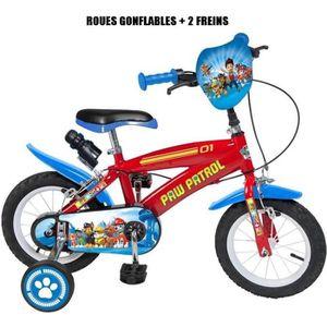 VÉLO ENFANT Vélo officiel La Pat Patrouille 12 pouces Disney e