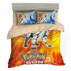 PARURE DE DRAP Pokémon Sun Parure de lit 2 pièces de Marque -1 Ho