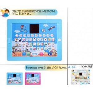 LIVRE INTERACTIF ENFANT Tablette D'apprentissage Interactive Ecran Led Cou