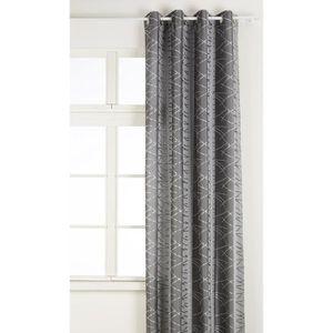 Rideau gris argent - Achat / Vente Rideau gris argent pas cher ...