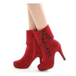 BOTTINE  Nouvelle Chaussure femme Très tendance Talons ...