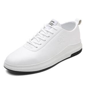 84a0d76fbc29 BASKET Chaussure Homme Cuir - Mode Classique Basket Homme