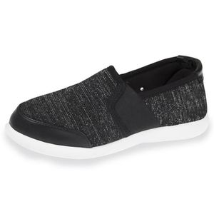 a7809ed71ef Chaussures femme ultra-confortables - Noir lurex - 94900-NLX-40 Noir ...