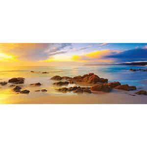 PUZZLE Puzzle panoramique de 136 pièces : Friendly Beache