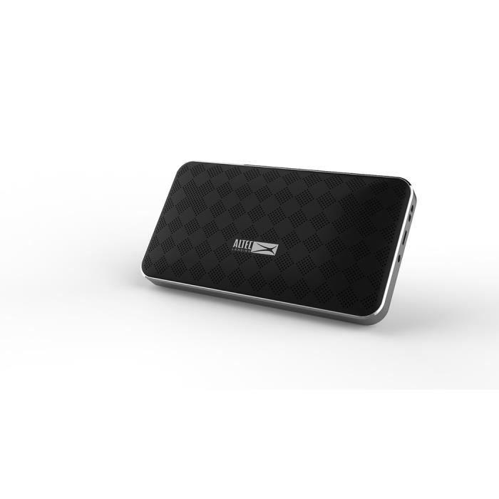 Enceintes Bluetooth - Porté 10m - NoirENCEINTE NOMADE - HAUT-PARLEUR NOMADE - ENCEINTE PORTABLE - ENCEINTE MOBILE - ENCEINTE BLUETOOTH - HAUT-PARLEUR BLUETOOTH