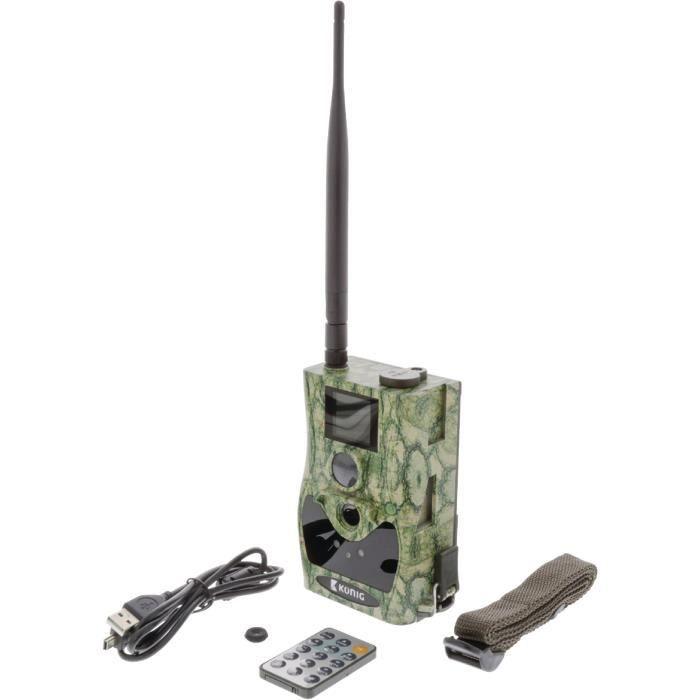 KONIG SAS-DVRODR31 Caméra de camouflage pour la faune 12.0 mp GPRS - Vert