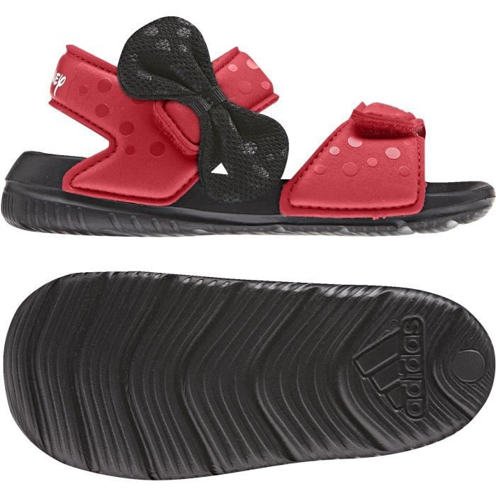 485116c997d01 Sandales adidas Disney Minnie AltaSwim - rouge foncé noir blanc - 22 ...