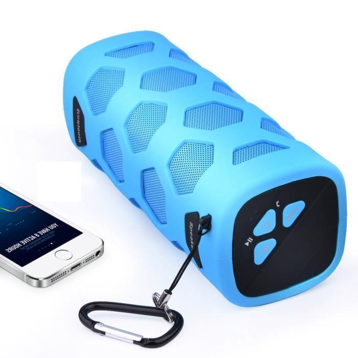 Extérieur Sans Fil Haut-parleur Portable Nfc Mobile Power Trois Anti Président Ya*225