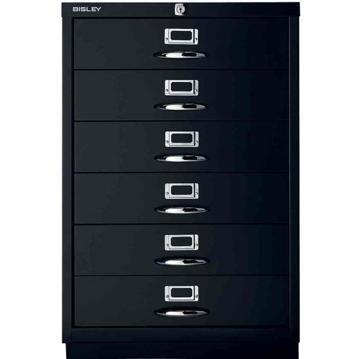 armoire à tiroirs série f, poignée, avec serrure - achat / vente