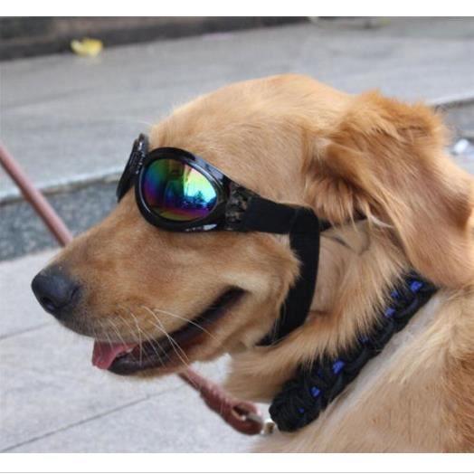 f5d4aa1bc5cf3 Pet Dog Lunettes de soleil UV Lunettes Lunettes Protection Lunettes de  soleil