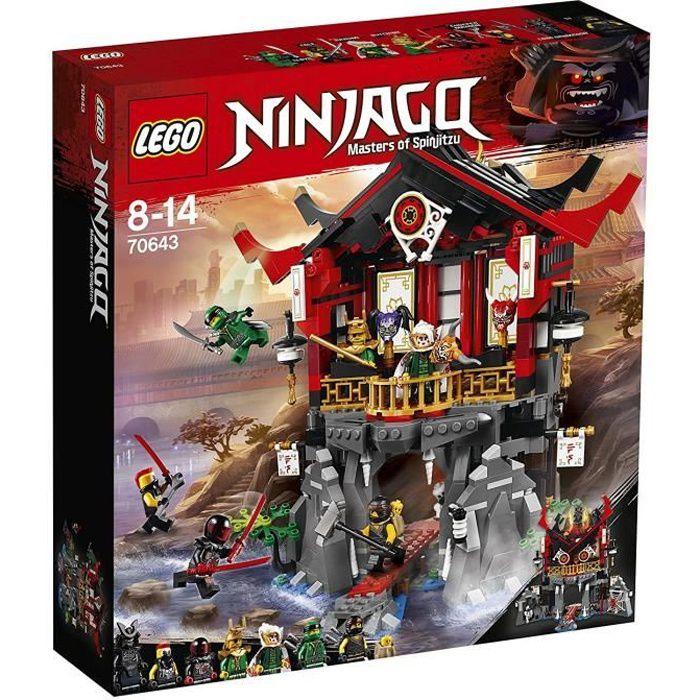 lego ninjago achat vente pas cher soldes d s le 10 janvier cdiscount. Black Bedroom Furniture Sets. Home Design Ideas