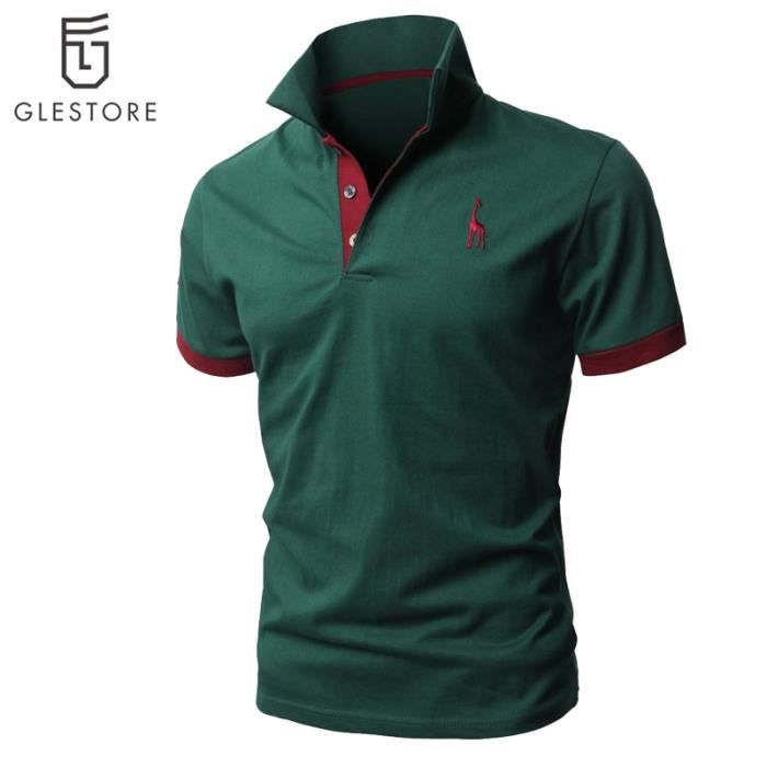 fb0678234d19a Vêtement Homme Polo de mode Chemise rose - Achat   Vente polo ...