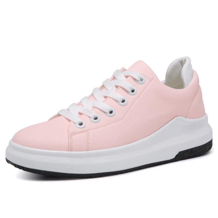 Printemps des femmes de la mode petites chaussures blanches sport casual chaussures liPxyXyG