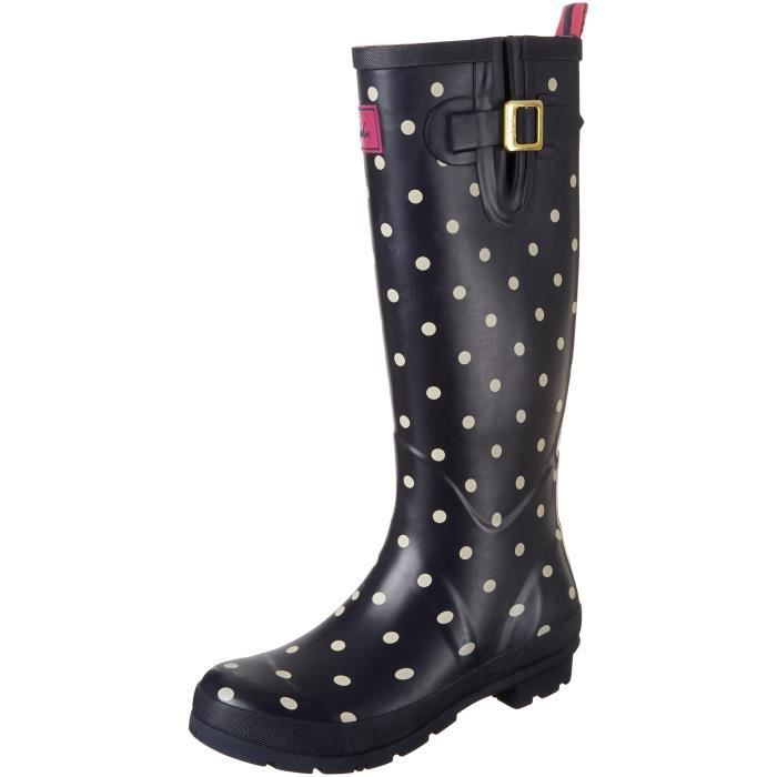 Joules Welly Rain Boot Imprimer F6RNY Taille-37