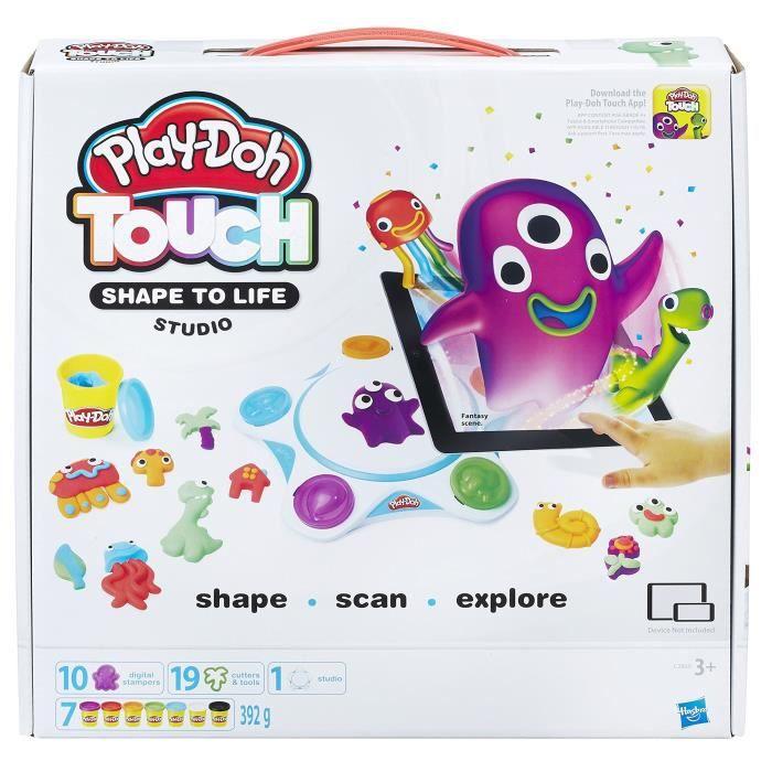 JEU DE PÂTE À MODELER Play-doh Touchez forme pour la vie en studio Play