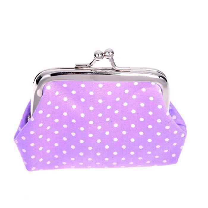 Les Pour Pieces Cle Femmes Violet Pochette Main Portefeuille Sac Populaire A Mini Mignon BFqqXvWzc