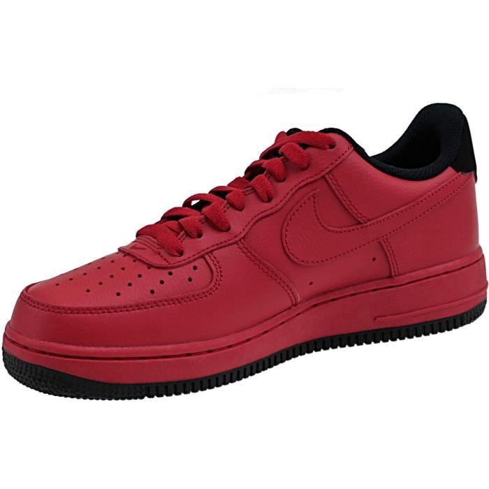 Nike Air Force 1 '07 315122-613 Homme Baskets Rouge